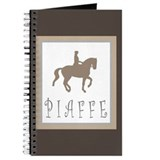 Piaffe Rider in Brown/Tan Journal
