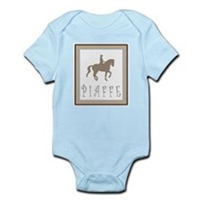 Piaffe Rider in Brown/Tan Infant Bodysuit