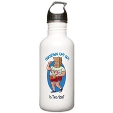 The Unknown Fat Guy - Is this You? Water Bottle