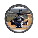 Unique Pave low Wall Clock