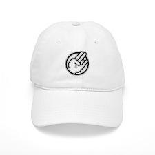 Black on white Baseball Cap