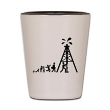 Oil Driller Shot Glass