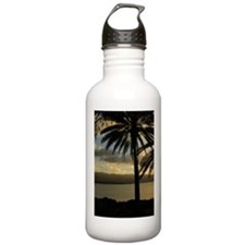 Sunset North Shore Oahu Water Bottle