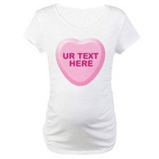 Banana Candy Heart Personalized Shirt