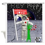 Poppy out of this world Shower Curtain