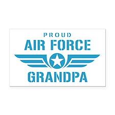Proud Air Force Grandpa W Rectangle Car Magnet