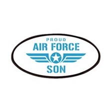 Proud Air Force Son W Patches