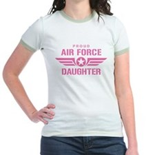 Proud Air Force Daughter W [pink] T
