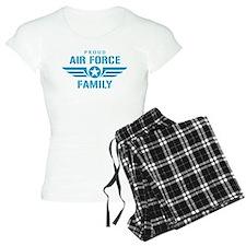 Proud Air Force Family W Pajamas