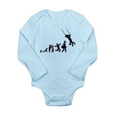 Trapeze Long Sleeve Infant Bodysuit