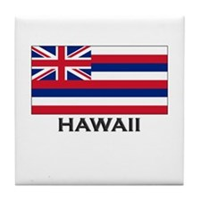 Hawaii Flag Stuff Tile Coaster
