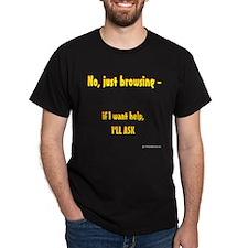 Just Browsing shirt (Blk)