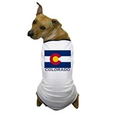 Colorado Flag Gear Dog T-Shirt