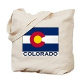 Colorado Flag Merchandise Tote Bag