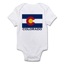 Colorado Flag Merchandise Infant Bodysuit