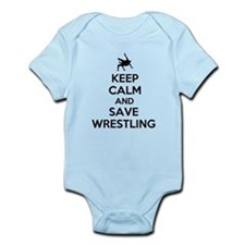 Keep Calm and Save Wrestling Body Suit