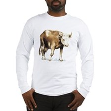 bull drawing Long Sleeve T-Shirt