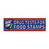 DRUGS FOOD STAMPS Wall Decal