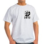 Hanub Ku 2012 Ash Grey T-Shirt