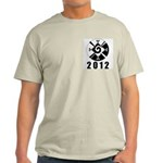 Hanub Ku 2012 Ash Grey T-Shirt