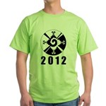 Hanub Ku 2012 Green T-Shirt