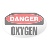 Danger: Oxygen Decal