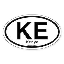 KE - Kenya Decal