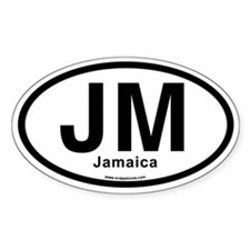JM - Jamaica Decal