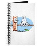 Bichon Frise Go Fish Journal