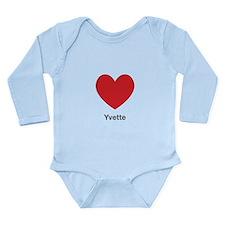 Yvette Big Heart Body Suit
