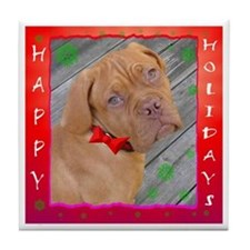 Dogue De Bordeaux, Tile Coaster