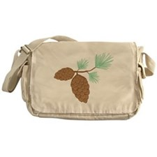 Pine Cone Messenger Bag