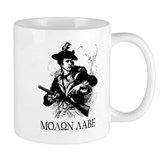 Minute Man Molon Labe coffee mug