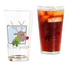 'Tis The Season Drinking Glass
