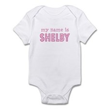 My name is Shelby Onesie
