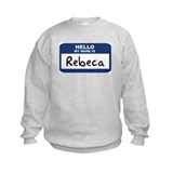 Hello: Rebeca Sweatshirt
