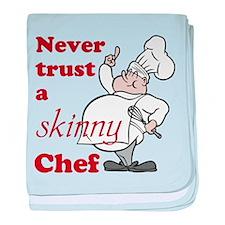 Skinny Chef baby blanket