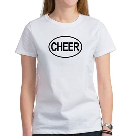 Cheer Oval Women's T-Shirt