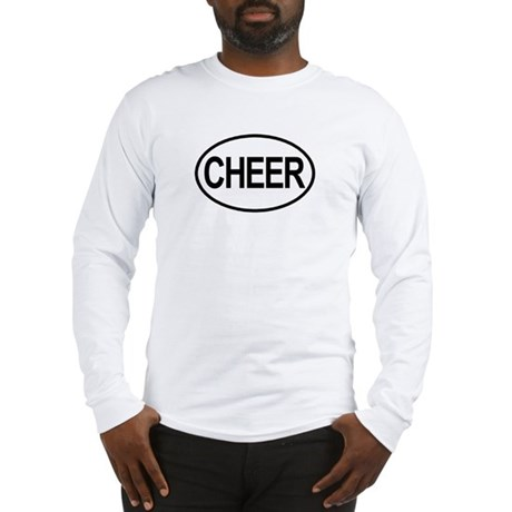Cheer Oval Long Sleeve T-Shirt
