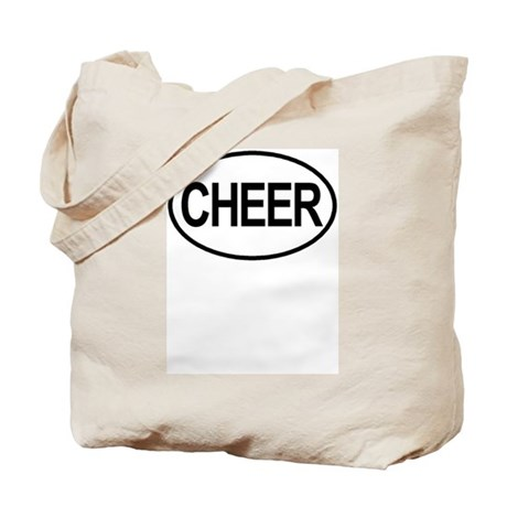 Cheer Oval Tote Bag