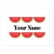 Watermelons Personalized Invitations