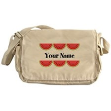 Watermelons Personalized Messenger Bag