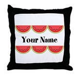 Bbq personalized Throw Pillows