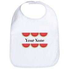 Watermelons Personalized Bib