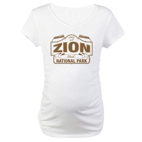 Zion National Park Maternity T-Shirt