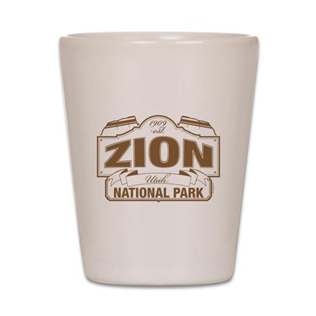 Zion National Park Shot Glass