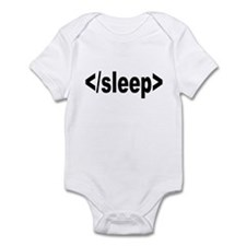 No To Sleep Infant Bodysuit