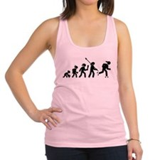 Roller Skating Racerback Tank Top