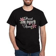 Air Force Aunt [fl camo] T-Shirt