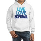 Funny Softball Jumper Hoodie